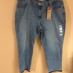 Levis 711 plus size 26w skinny mid rise jeans NWT